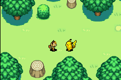 Pokemon Mystery Dungeon - Red Rescue Team - Cut-Scene  - Meowth and pikachu best team ever - User Screenshot