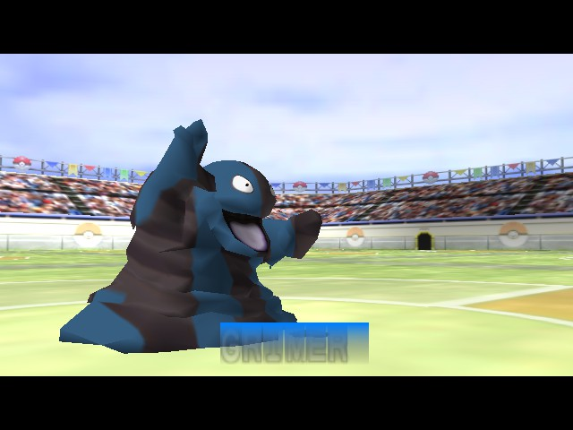 Pokemon Stadium 2 - Football Skin! - User Screenshot