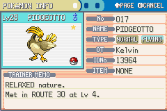 Pokemon Shiny Gold X Version - my secon pokemon to catch but shiny - User Screenshot