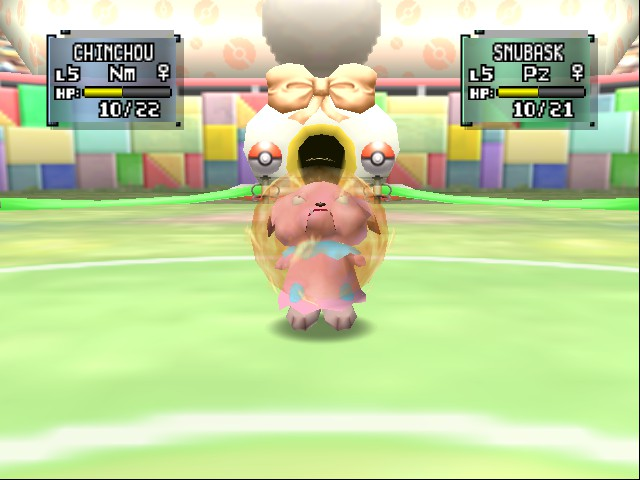Pokemon Stadium 2 - Electric Bubble Head - User Screenshot