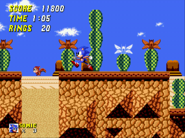 Sonic 2 - The Lost Worlds - D: - User Screenshot