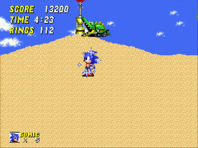 Sonic 2 - The Lost Worlds - Level Select  - :OO - User Screenshot