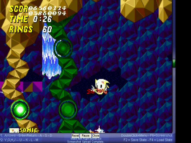 Sonic 2 Long Version - WTF?! master hack - User Screenshot