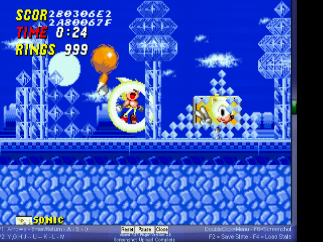 Sonic 2 Long Version - im the best! lifes 999 - User Screenshot