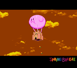 Kirby Super Star - Ending  - Kirby needs to stop eating so much - User Screenshot