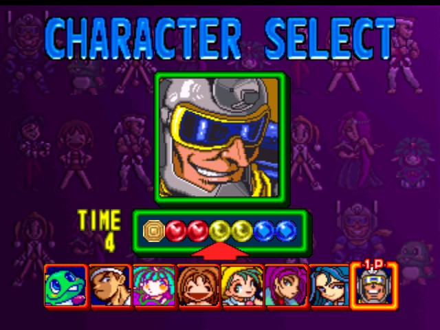 Marina -Character Select :Sonic Blastman from Sonic Blast Man - User Screenshot