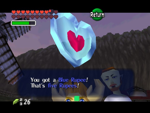 The Legend of Zelda - Ocarina of Time (Debug Edition) - again with the glitch - User Screenshot