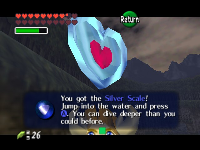 The Legend of Zelda - Ocarina of Time (Debug Edition) - different for of glitch - User Screenshot