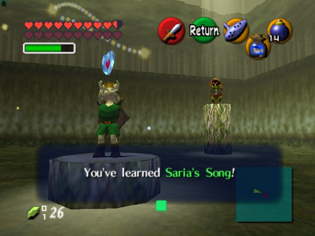 The Legend of Zelda - Ocarina of Time (Debug Edition) - glitch - User Screenshot
