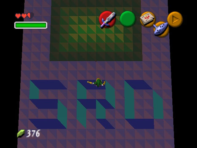The Legend of Zelda - Ocarina of Time (Debug Edition) - Location easter egg - SRD - User Screenshot