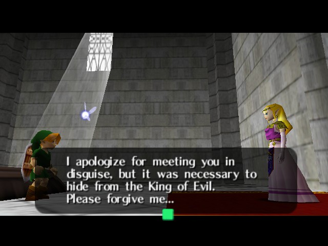 The Legend of Zelda - Ocarina of Time (Debug Edition) - heh - User Screenshot