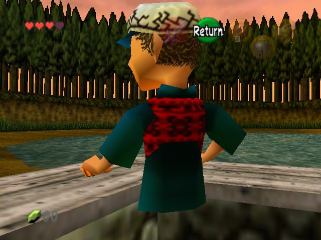 The Legend of Zelda - Ocarina of Time (Debug Edition) - half of dude - User Screenshot