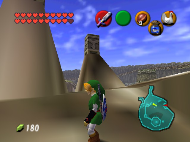 The Legend of Zelda - Ocarina of Time (Debug Edition) - Character Profile awesome - black gauntlets pwns all - User Screenshot