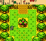 Zelda - Oracle of Ages - Misc  - Hey, the ember seeds grew back! - User Screenshot