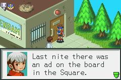 Megaman Battle Network 2 - Chaud spelled night wrong - User Screenshot