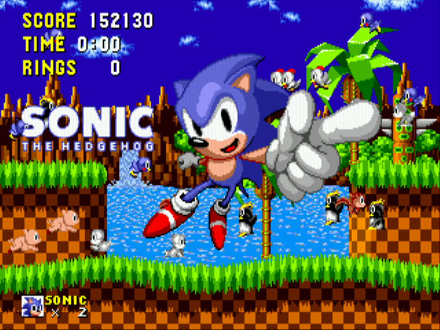 Sonic the Hedgehog - Ending  - Here we go. - User Screenshot