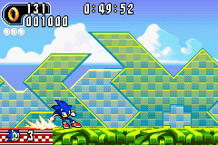 Sonic Advance 2 - Level  - No matter what. - User Screenshot