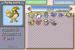 Pokemon Shiny Gold - shiny Pidgeotto - User Screenshot