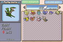 Pokemon Shiny Gold - shiny Zubat - User Screenshot