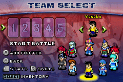 Yu Yu Hakusho - Ghostfiles - Tournament Tactics - all characters - User Screenshot
