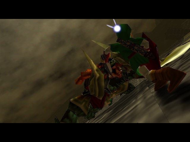 Legend of Zelda, The - Ocarina of Time - Cut-Scene  - EAT IT!!!! - User Screenshot