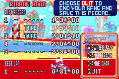 Mario Kart - Super Circuit - this is my current time - User Screenshot