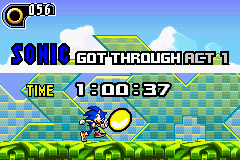 Sonic Advance 2 - Level  - meh - User Screenshot