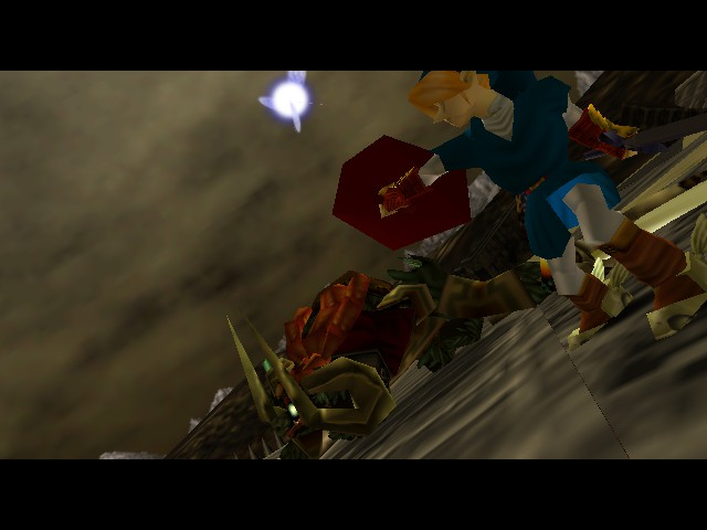 Legend of Zelda, The - Ocarina of Time - Cut-Scene  - Legen.... wait for it! - User Screenshot