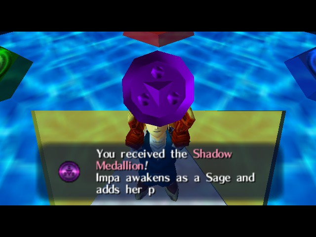 The Legend of Zelda - Ocarina of Time - Cut-Scene  - no shield all through Shadow Temple - User Screenshot