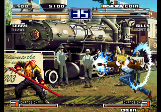 The King of Fighters 2003 (NGM-2710) - Misc  - King of Fighters. - User Screenshot