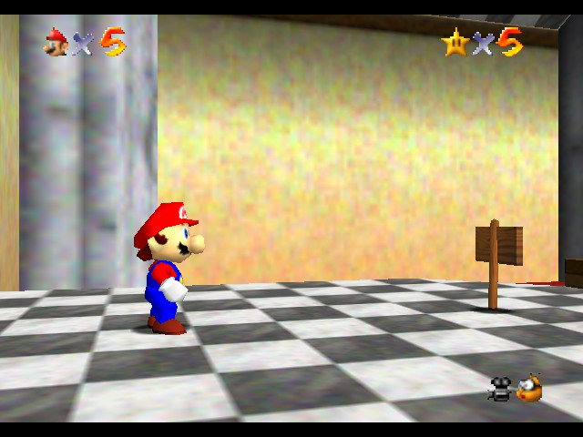 Kaizo Mario 64 - Misc stars - i got five stars - User Screenshot