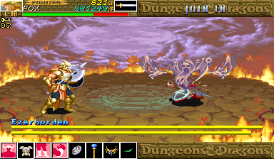 Dungeons & Dragons: Shadow over Mystara (Euro 960619) - Ghosts and Goblins. - User Screenshot