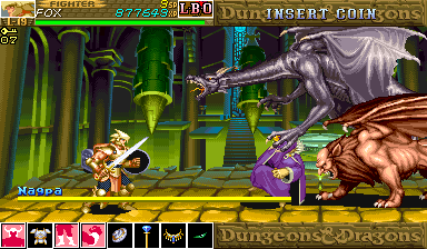 Dungeons & Dragons: Shadow over Mystara (Euro 960619) - Dragon and a??? You Cheater.! - User Screenshot