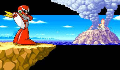Mega Man: The Power Battle (CPS1, USA 951006) - Watch the fireworks - User Screenshot