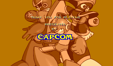 Mega Man: The Power Battle (CPS1, USA 951006) - Finish - User Screenshot