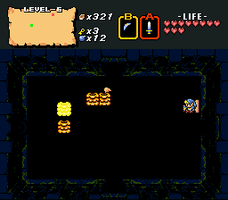 Legend of Zelda, The - Fourth Quest - Ladder it again - User Screenshot