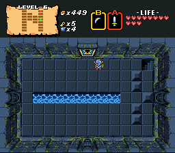 Legend of Zelda, The - Fourth Quest - Over? Or Under? Left Or Right? - User Screenshot