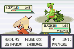 Pokemon Emerald - Battle  - It