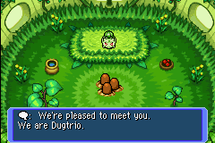 Pokemon Mystery Dungeon - Red Rescue Team - Cut-Scene  - GET OUT. THIS IS MY HOME NOT YOURS GET OUR - User Screenshot