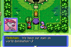 Pokemon Mystery Dungeon - Red Rescue Team - Cut-Scene  - domination by becoming a great rescue team? - User Screenshot