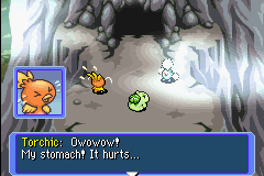 Pokemon Mystery Dungeon - Red Rescue Team - Cut-Scene  - asian torchic - User Screenshot
