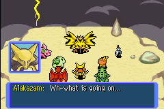 Pokemon Mystery Dungeon - Red Rescue Team - Cut-Scene  - Alakazam