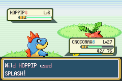 Pokemon Shiny Gold X Version - Battle  - FINALLY. A POKEMON MORE USELESS THAT MAGIKARP - User Screenshot