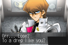 Yu-Gi-Oh! - The Sacred Cards - I beat you and you still call me a dreg? noob - User Screenshot