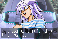 Yu-Gi-Oh! - The Sacred Cards - Cut-Scene  - lol. look at his face - User Screenshot