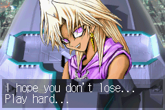 Yu-Gi-Oh! - The Sacred Cards - Cut-Scene  - o...... trust me, I WILL play hard..... - User Screenshot