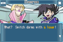 Yu-Gi-Oh! GX - Duel Academy - Cut-Scene  - NOW THAT IS RUDE OF YOU - User Screenshot