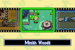 The Legend of Zelda - The Minish Cap (demo) - Menus demo - This is just a demo - User Screenshot
