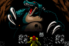 Metroid - Zero Mission - Cut-Scene  - kraid part 3 - User Screenshot