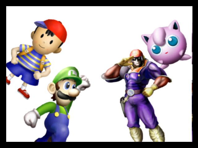 Super Smash Bros. - Cut-Scene  - New characters - User Screenshot